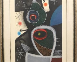 """Joan Miro """"Le Somnambule"""" or The Sleepwalker.  #6 from the edition of 50"""