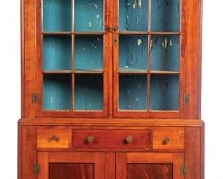 Corner Cupboard to sell March 28, 2020 Garths Country Americana Auction