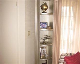 Stunning Revolving Display Curio Shelving