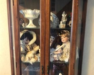 Doll collection & display cabinets