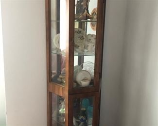 Display cabinet & collectibles