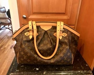 Like new, authentic Louis Vuitton bag with paperwork, box & dust bag