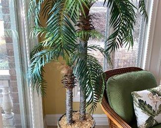 FAUX PALM TREE-$120
