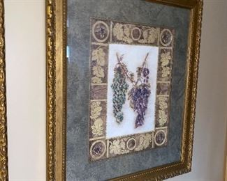 TWO GRAPEVINE PICTURES $75 EACH