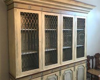 Large china cabinet/hutch