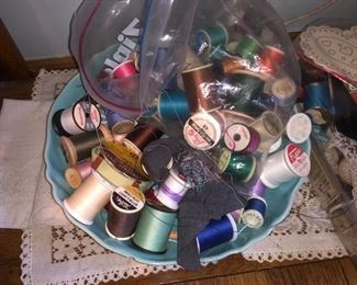 Sewing notions and craft supplies......
