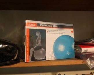 Exercise ball - new in box