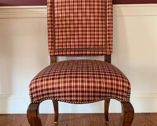 Pair of upholstered side chairs: $300 for pair