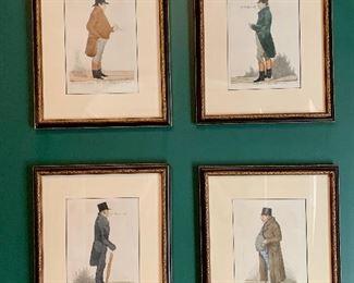 Englishmen etchings (4): $150