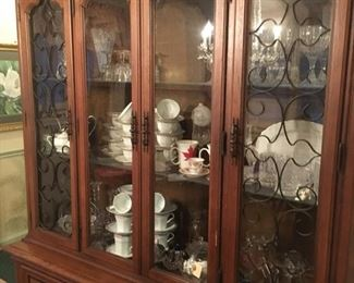 Lovely Glass-door China Cabinet