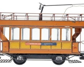 Hispania Double Decker Trolley