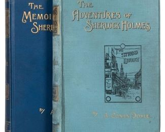 The Adventures of Sherlock Holmes First Edition, First Issue