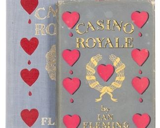 Casino Royale First edition, First Printing
