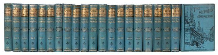 20 vols. of the Strand Magazine featuring Sherlock Holmes