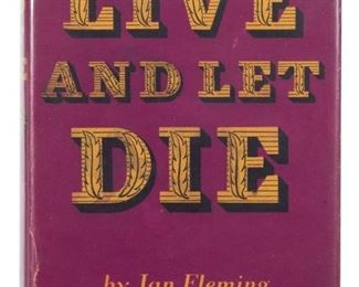 Live and Let Die by Ian Fleming First edition First Printing