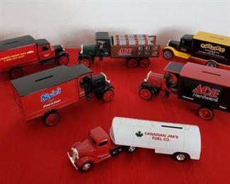 Metal Advertising Truck Banks #1 https://ctbids.com/#!/description/share/354693