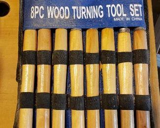 Pittsburgh 8-Piece Wood Turning Tool Set https://ctbids.com/#!/description/share/357068