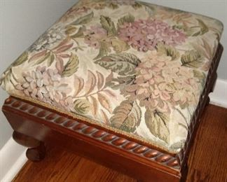 Antique Footstool.  $45