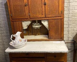 Hoosier baker's  cabinet