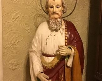 Standing Religious figure Appx 3' tall