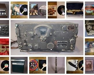 MARCH 26th vtg audio auction collage
