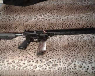 9 mm Carbine w/ 31 round magazine.  Top rail capable of mounting scope or laser sight. We are an FFL so whomever buys this, must pick it up at a local gun store after completing three day wait and  passing back ground check.