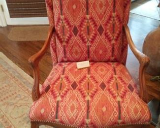 Southwestern upholstered Occasional Chair                            $175