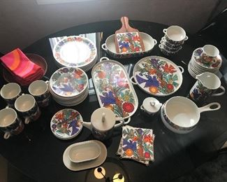 villeroy & boch Acapulco fine china. Most of these pieces are new