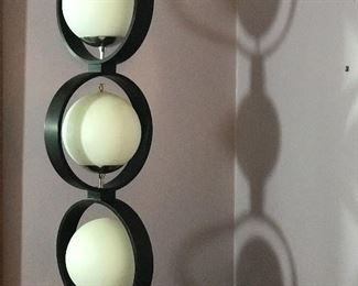 large mod french table lamp