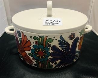 villeroy and boch Acapulco covered casserole