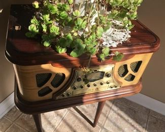 . . . this is a radio/record player/cassette player