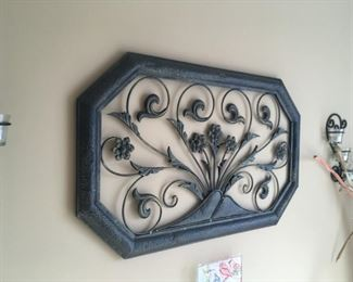 . . . a nice piece of wrought-iron wall art