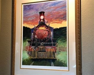"""(No. 12) Aldo Luongo Signed limited edition 51/100.  """"The Old and Glorious"""" 1998 ~ 39"""" x 48"""" with frame.  Comes with COA  $600 obo"""