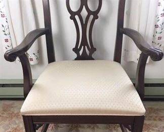 Ethan Allen Chippendale Style Armchair