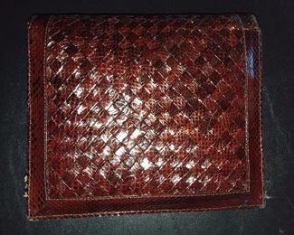 Snakeskin Pocketbook - $50