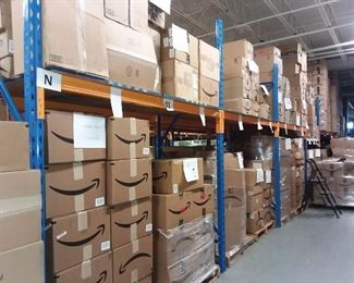 Warehouse Overview (PLEASE SEE OTHER PICTURES FOR INVENTORY, PRICES, & QUANTITY)