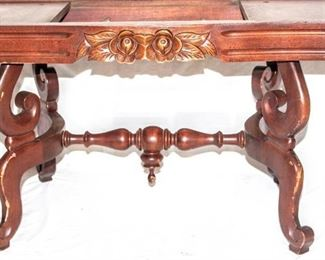 Beautiful Wooden Coffee Table Base (no top piece)