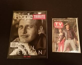 PEOPLE MAGAZINE PAUL NEWMAN TRIBUTE 1958 TV GUIDE