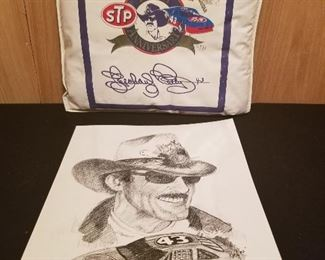 Richard Petty 43 Cushion and Print