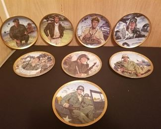 The Franklin Mint JOHN WAYNE Collector Plates
