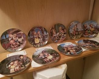 The M.I. HUMMEL COLLECTOR PLATES