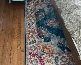 Bedroom Rug, 1 year old 100$