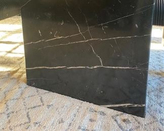 Marble table base