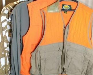 Hunting clothing vests shirt jacket