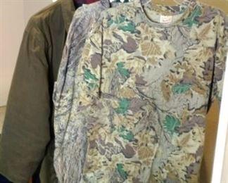 Hunting clothing Woolrich t shirt Mossy Oak long sleeve
