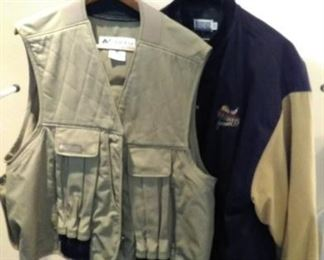 hunting vest and Pheasants forever jacket