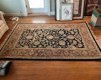 Handmade wool rug large