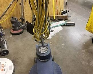 Powr-Flite P1600 Floor Machine