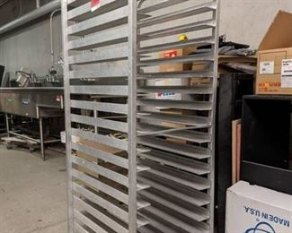 Seco Products Pan Rack Not On Casters