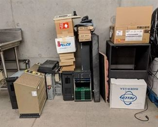 Assorted CPU's, New In Box Keyboards, And Assorted Items